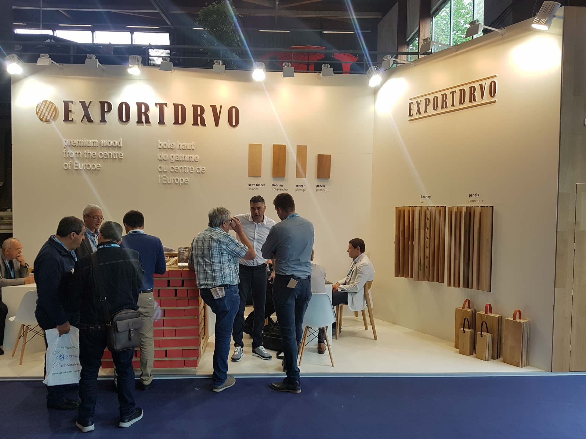 Exportdrvo na Carrefour International du Bois 2018