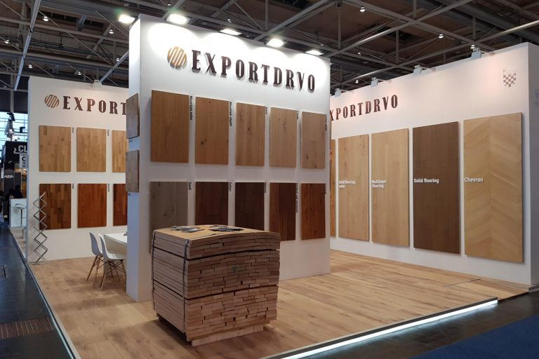 Exportdrvo at Domotex