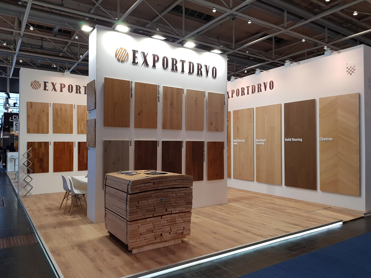 Exportdrvo at Domotex 2020